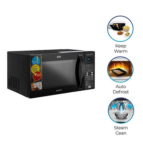 IFB 30 L Convection Microwave Oven (30BRC2, Black, With Starter Kit)