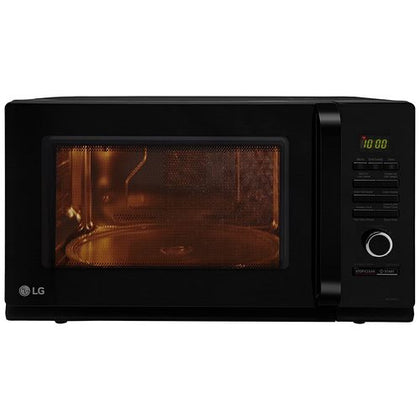 LG 32 L Convection Microwave Oven (MC3286BLT, Black, With Starter Kit)