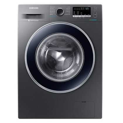 Samsung 8 Kg Inverter 5 star Fully-Automatic Front Loading Washing Machine (Silver Grey, Hygiene Steam)