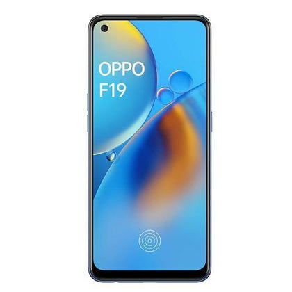OPPO F19 (Midnight Blue, 6GB RAM, 128GB Storage)