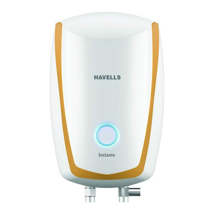 Havells Instanio 3-Litre Instant Electric Water Heater ( HVLSWH-INSTANIO3L , White/Mustard )