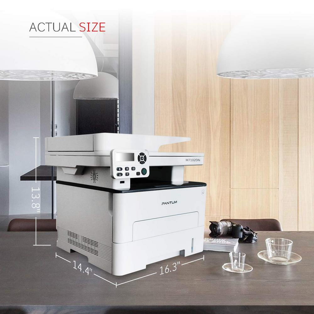 Pantum M7102DN All-in-one Monochrome Laser Printer ( PNTMPTR-M7102DN )