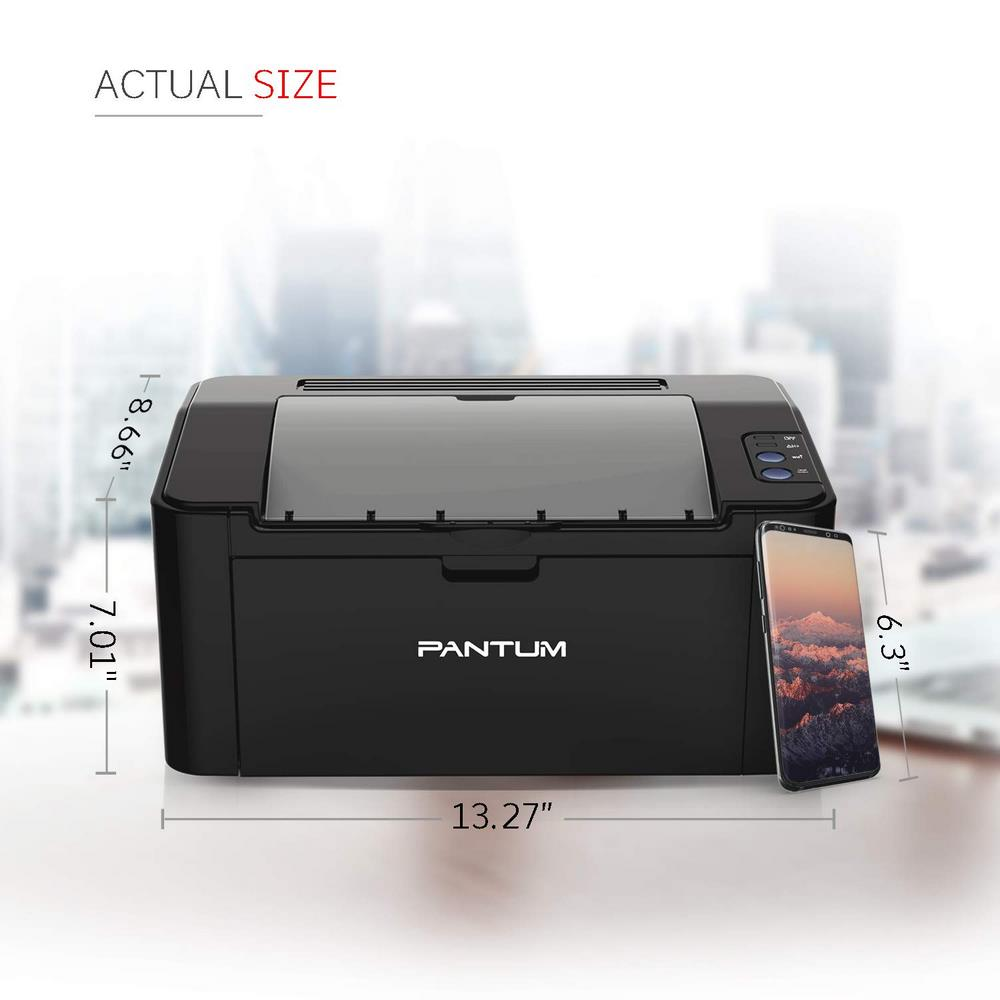 Pantum P2500 Single Function Monochrome Laser Printer ( PNTMPTR-P2500 )
