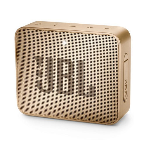 JBL Go 2 Portable Waterproof Bluetooth Speaker (Gold)