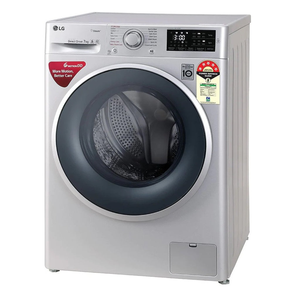LG 7 kg FHT1207ZNL Fully Automatic Frontloading Washing Machine