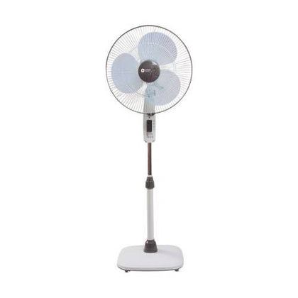 Orient Electric 400 mm Stand 32 400 mm 3 Blade Pedestal Fan (White)