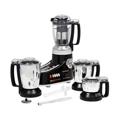 Panasonic MX-AC460 550 Juicer Mixer Grinder  (Black, 4 Jars)