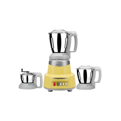 Panasonic MX - AV325 600 Mixer Grinder ( Yellow , 3 JARS)