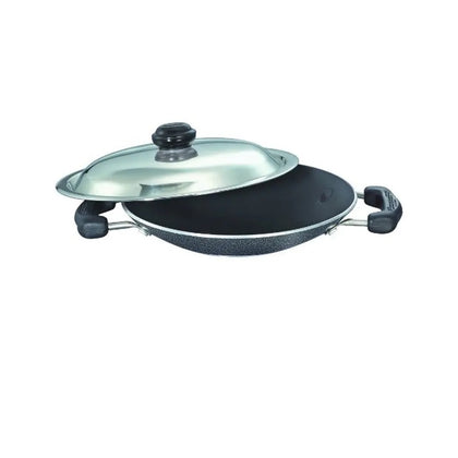 Prestige Omega Select Plus Residue Free Non-Stick Appachetty with SS Lid, 20cm ( 30731 )