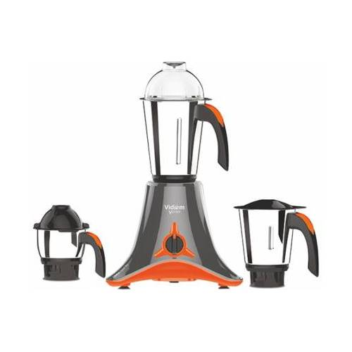Vidiem V Star Evo 750 W Mixer Grinder  (Orange, Grey, 3 Jars)