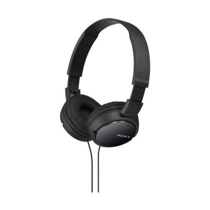 Sony ZX110 Wired Headset without Mic  (Black, On the Ear)