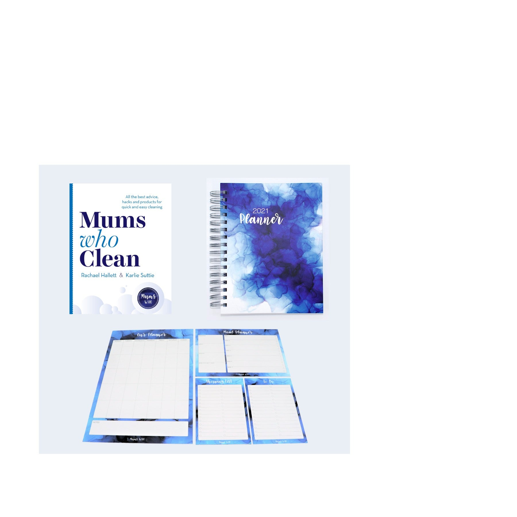 Mums Who Clean Book + Mums Who Ultimate Organisation Bundle