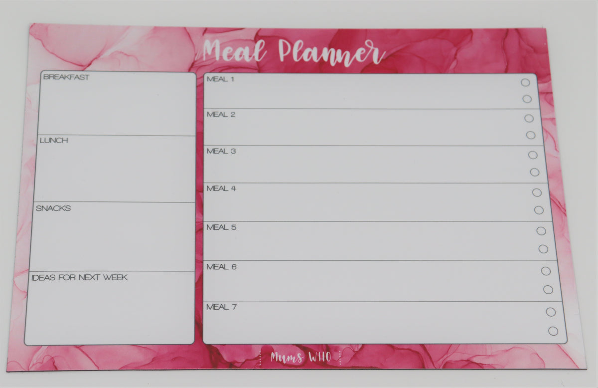 Mums Who Magnetic Organisation Set - Pink (in stock)
