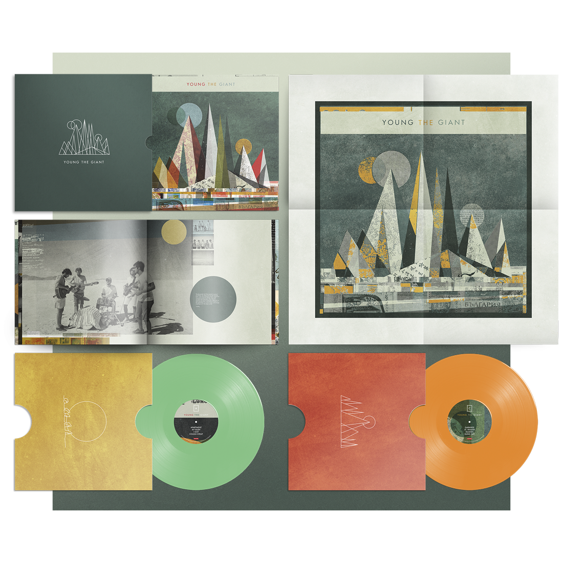 YOUNG THE GIANT (10TH ANNIVERSARY EDITION 2ND PRESSING)