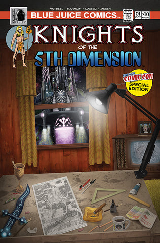 """Knights of the 5th Dimension"" #1 NYCC Special Edition"