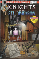 """Knights of the 5th Dimension"" #1 NYCC Special Edition - Signature Series"