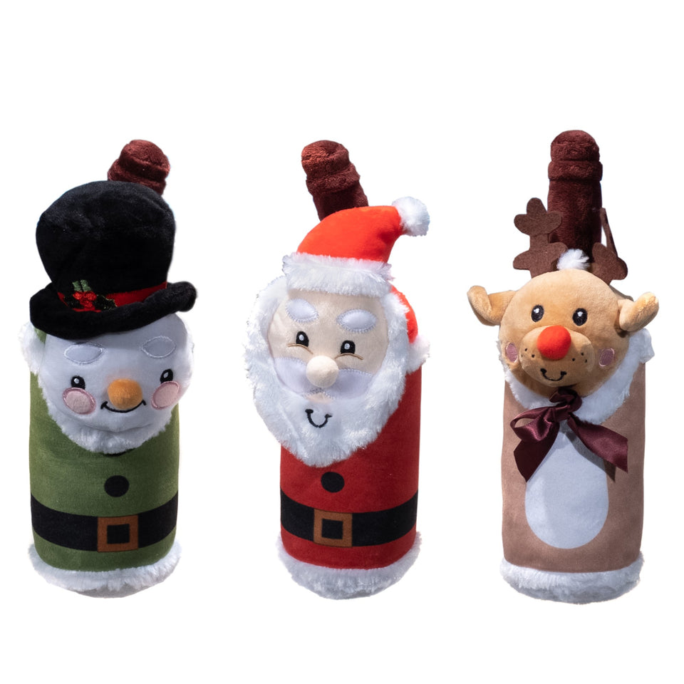 Holiday Head Bottles 3 Pack
