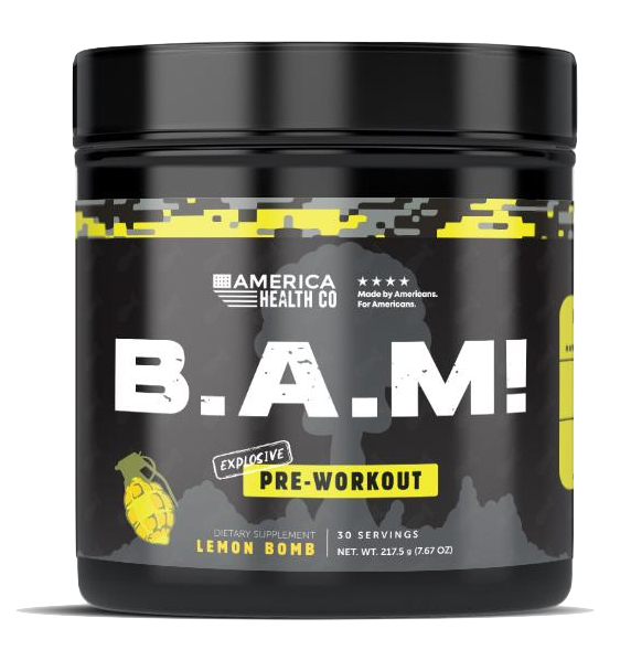 B.A.M! Explosive Pre-Workout - Lemon Bomb