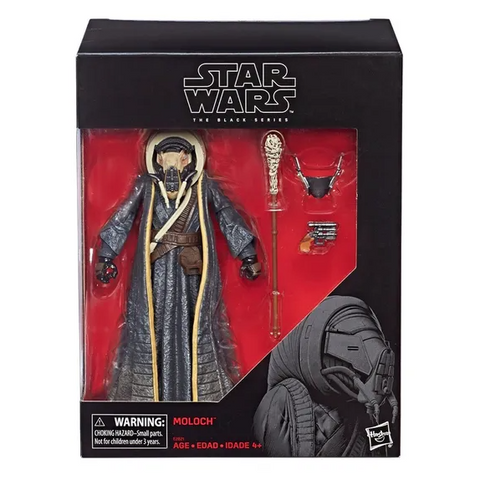 "Star Wars Solo Story Black Series Moloch 6"" Action Figure"