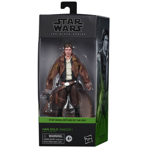 "Star Wars The Black Series Han Solo (Endor) 6"" Action Figure"