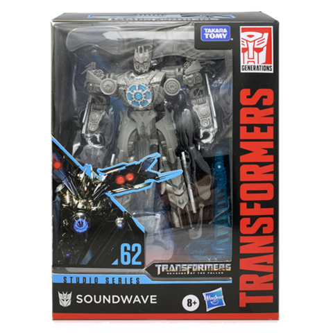 Transformers Revenge of the Fallen #62 Soundwave Figure