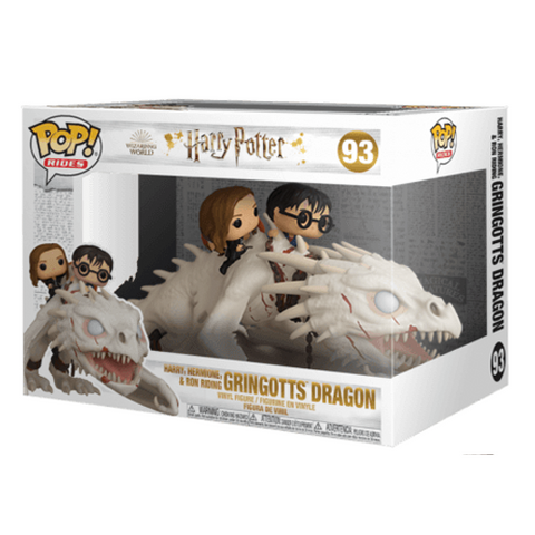 Harry Potter Dragon with Harry, Ron & Hermione POP! Ride