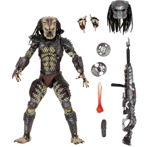 "Predator 2 Ultimate Scout Predator 7"" Scale Action Figure"