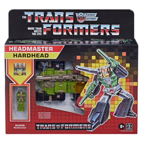Transformers Headmaster G1 Retro Hardhead Figure
