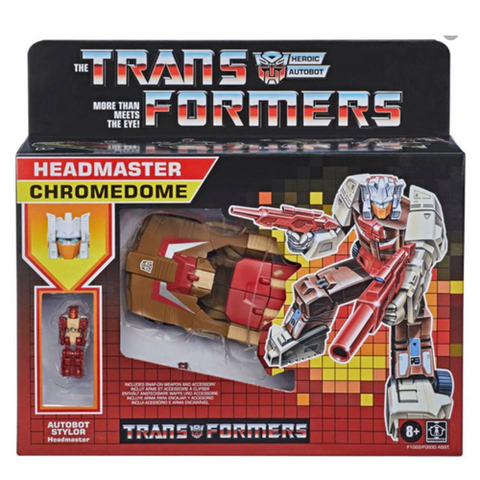 Transformers Headmaster G1 Retro Chromedome Figure