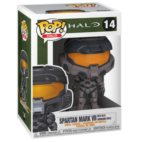 Halo Spartan Mark VII (with VK78 Commando Rifle) POP! Vinyl Figure