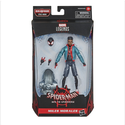 Marvel Legends Spider-Man Into the Spider-Verse Miles Morales Figure