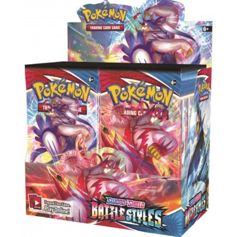 Pokemon Sword and Shield Battle Styles Booster Box (36 packs)