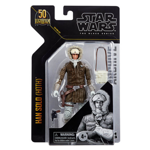 Star Wars The Black Series Archive Han Solo (Hoth) Action Figure