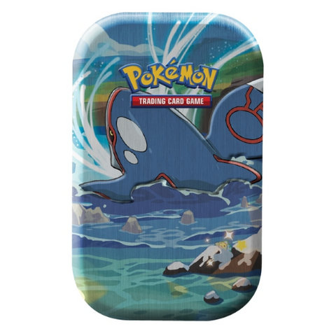 Pokemon Shining Fates Kyogre Mini Tin
