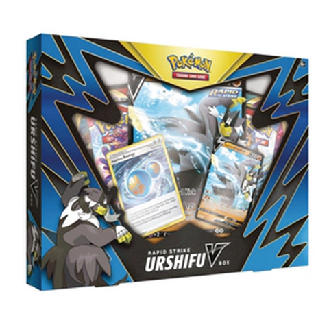 Pokemon TCG Rapid Strike Urshifu V Box