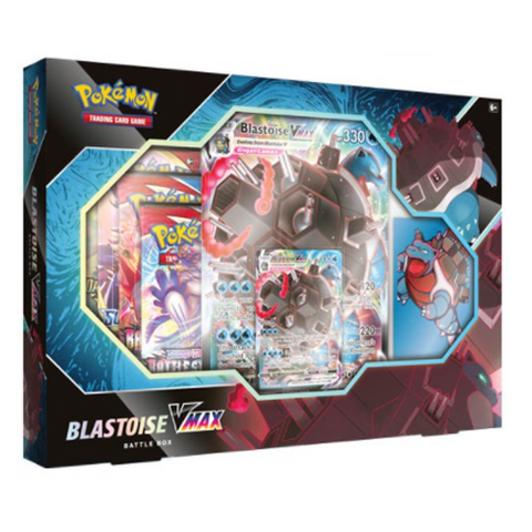 Pokémon TCG Blastoise VMAX Battle Box