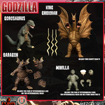 *Pre-Order* Godzilla Destroy All Monsters (1968) Round 2 Boxed Set of 4 Figures