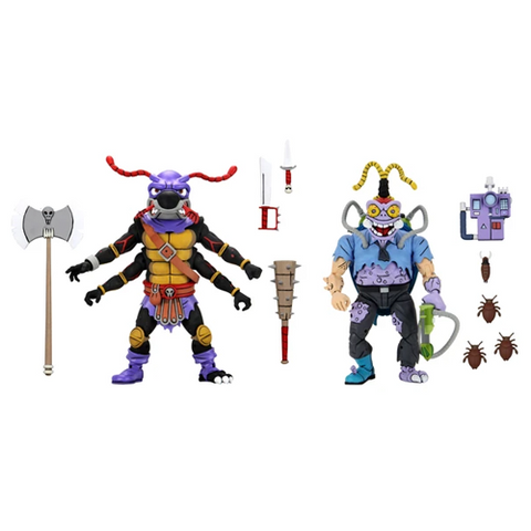 *Pre-Order* Teenage Mutant Ninja Turtles Antrax and Scumbug 2 Pack
