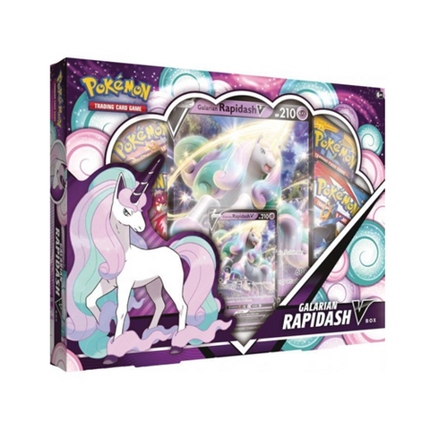 *PRE-ORDER* Pokémon Galarian Rapidash V Collection Box