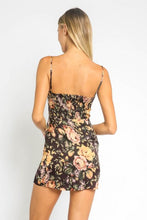 Load image into Gallery viewer, Floral Devine Mini Dress