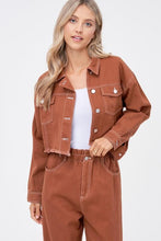 Load image into Gallery viewer, Homegirl Brown Cropped Jacket