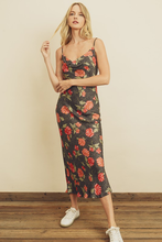 Load image into Gallery viewer, Ryder Leopard & Floral Slip Dress
