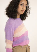 Load image into Gallery viewer, Soulful Stripe Spring Sweater