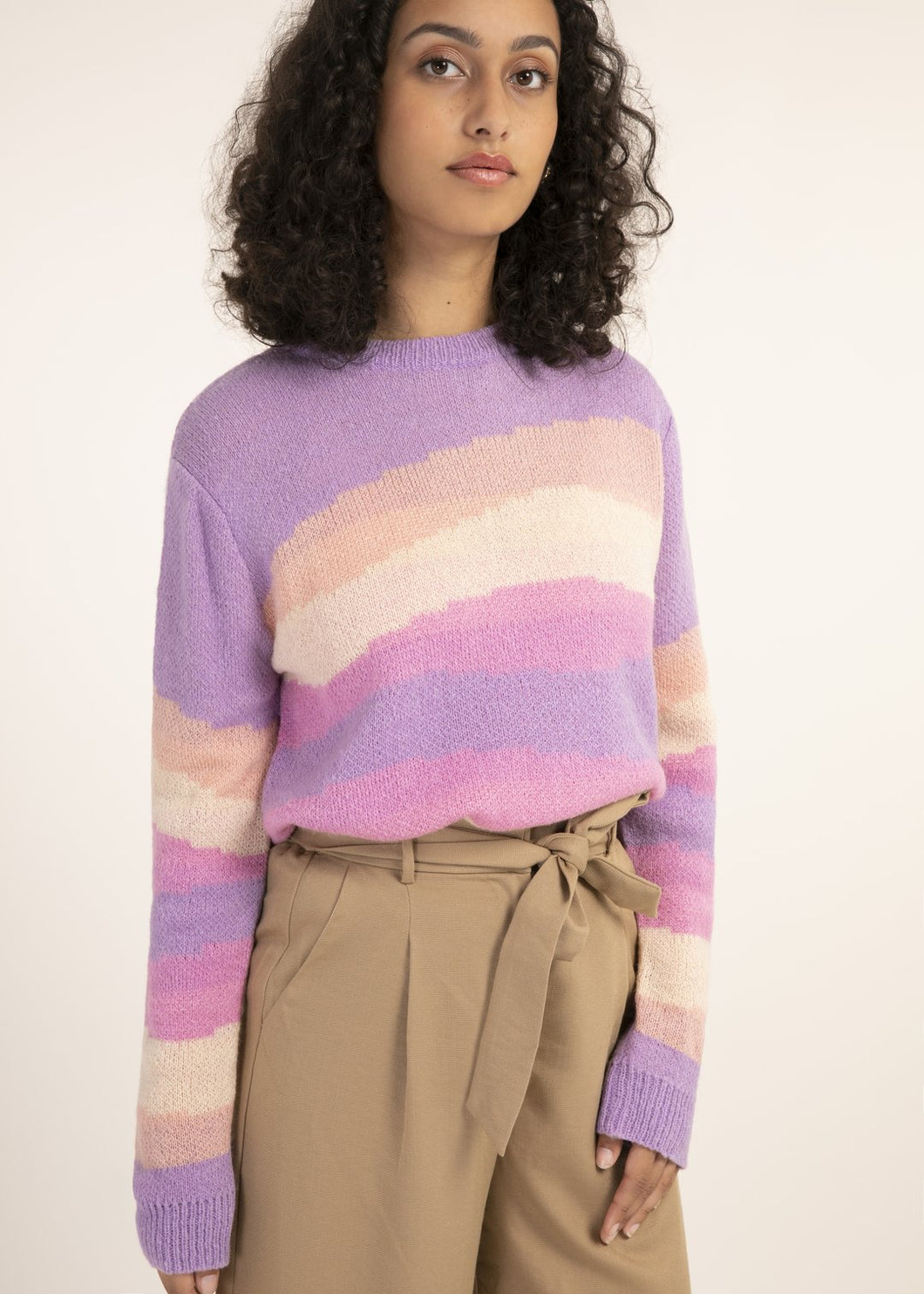 Soulful Stripe Spring Sweater