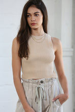 Load image into Gallery viewer, Nude Tully Knit Sweater Tank