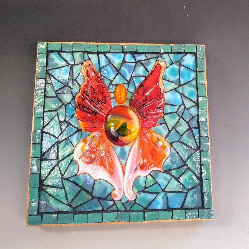 Stained Glass Mosaic by Catlin Adami