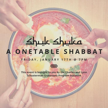 SOLD OUT: A OneTable Shabbat | Jan 17, 2020