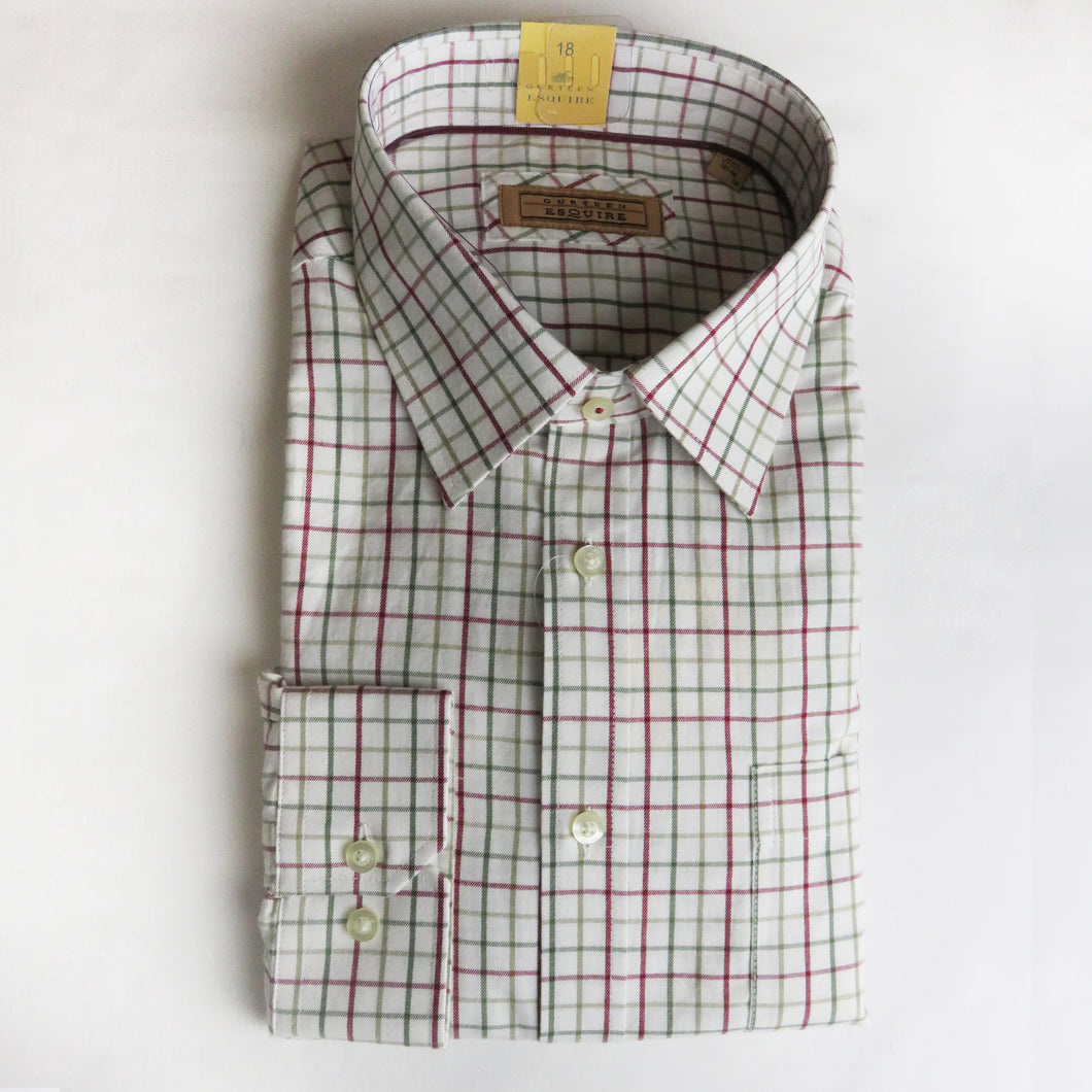 Gurteen Red & Green Check Shirt