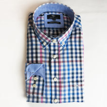 Load image into Gallery viewer, Fynch Hatton Small Checked Shirts