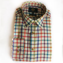 Load image into Gallery viewer, Viyella Cotton & Wool Shirt in Medium Check